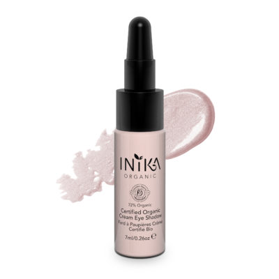 INIKA Certified Organic Cream Eye Shadow 7ml Champagne With Product-2