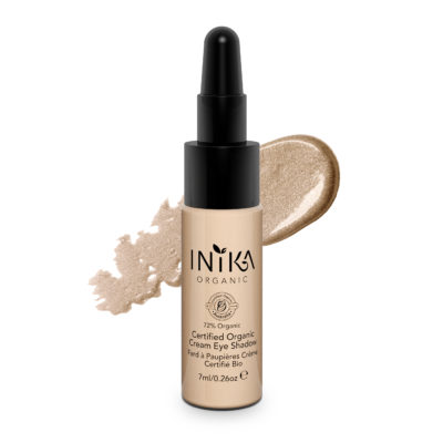 INIKA Certified Organic Cream Eye Shadow 7ml Champagne With Product