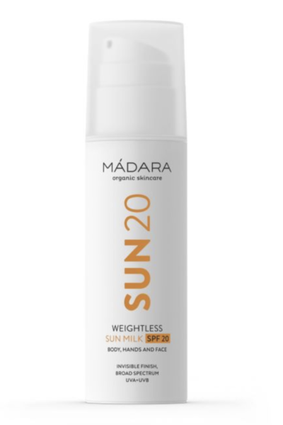 SUN20 WEIGHTLESS MILK SPF20-madara-cream