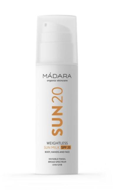SUN20 WEIGHTLESS MILK SPF20-madara-cream