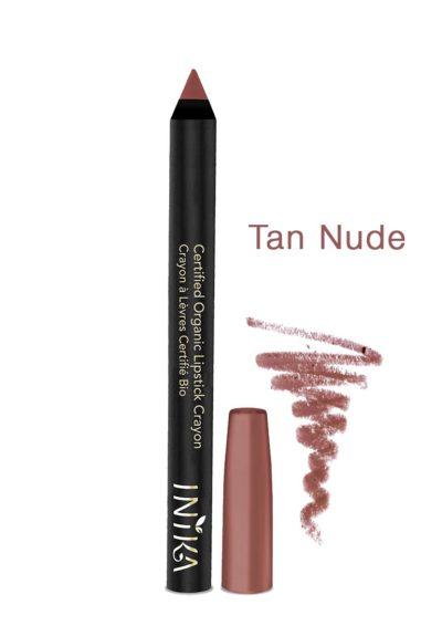INIKA-Bold-Lipstick Crayon-TAN-nude