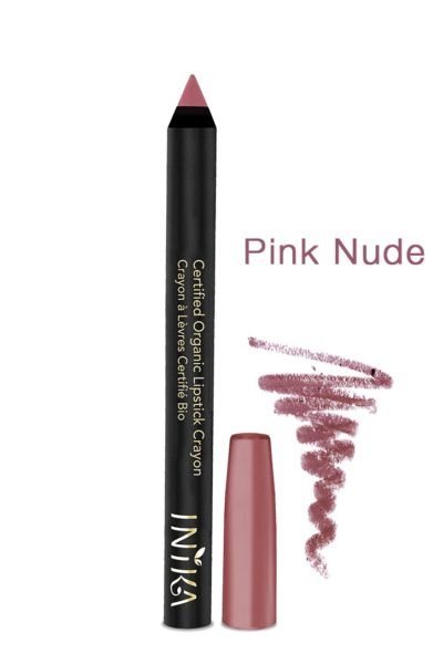 INIKA-Bold-Lipstick Crayon-pink-nude