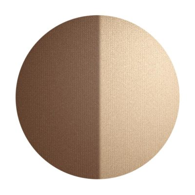 INIKA Organic Baked Contour Duo Almond Swatch Together