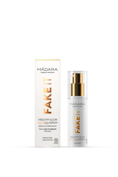 2-Fake It Healthy Glow Self Tan Serum for face